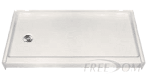 APF6030SHPANL shower pan replacement for bathtubs